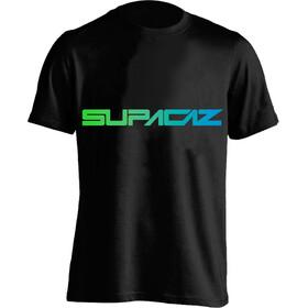 Supacaz Fader T-Shirt Unisex neon grün/neon blau